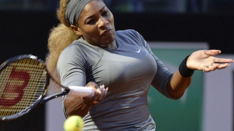 Tennis: Esordio positivo per Serena Williams, l'azzurro Fabbiano ko
