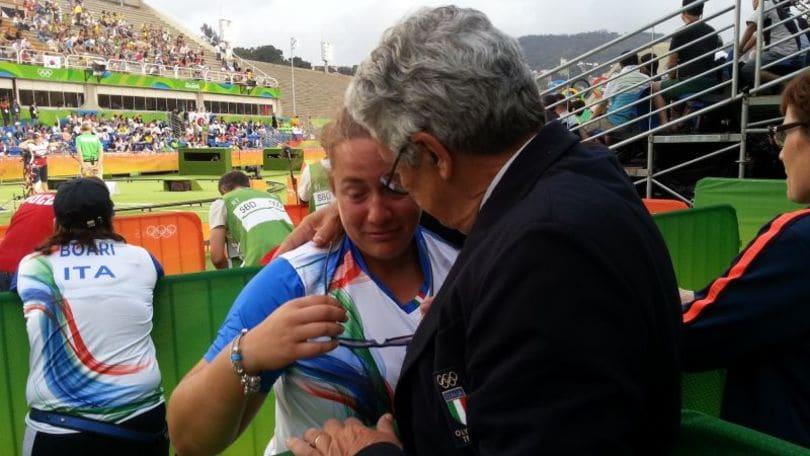 Rio2016: Tiro con l'arco. Di Buo'