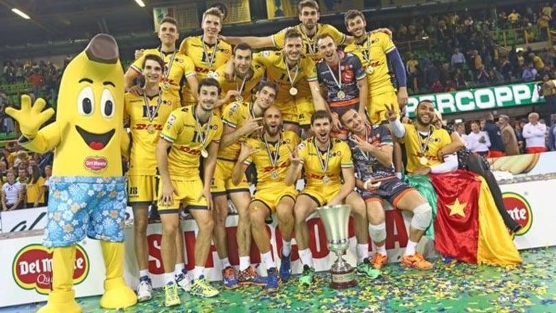 Volley: Superlega, la Supercoppa a Modena il 24 e 25 settembre