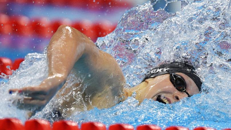 Olimpiadi, nuoto: Ledecky a un passo dal quarto oro