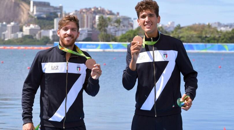 Rio 2016, canottaggio: bronzo Abagnale-Di Costanzo nel due senza