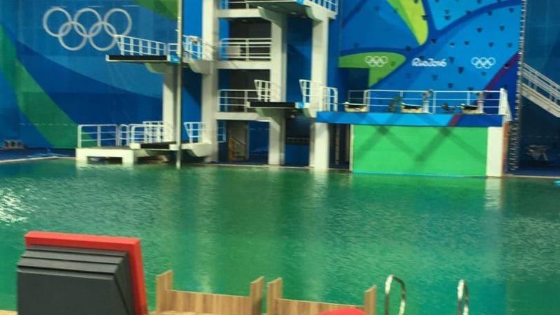 Rio2016 tuffi ancora problemi d 39 acqua chiusa piscina - Piscina olimpiadi ...