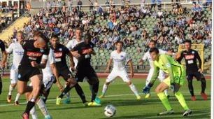 Herta Berlino-Napoli, Hamsik fa gol di tacco