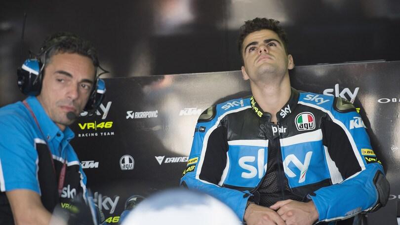 Moto3: Fenati sospeso dal team, non correrà in Austria