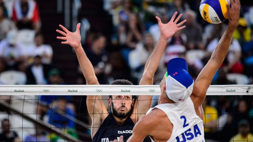 Olimpiadi, beach volley: Lupo-Nicolai, quote da finale
