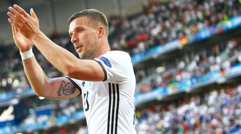 Podolski dice addio alla nazionale tedesca