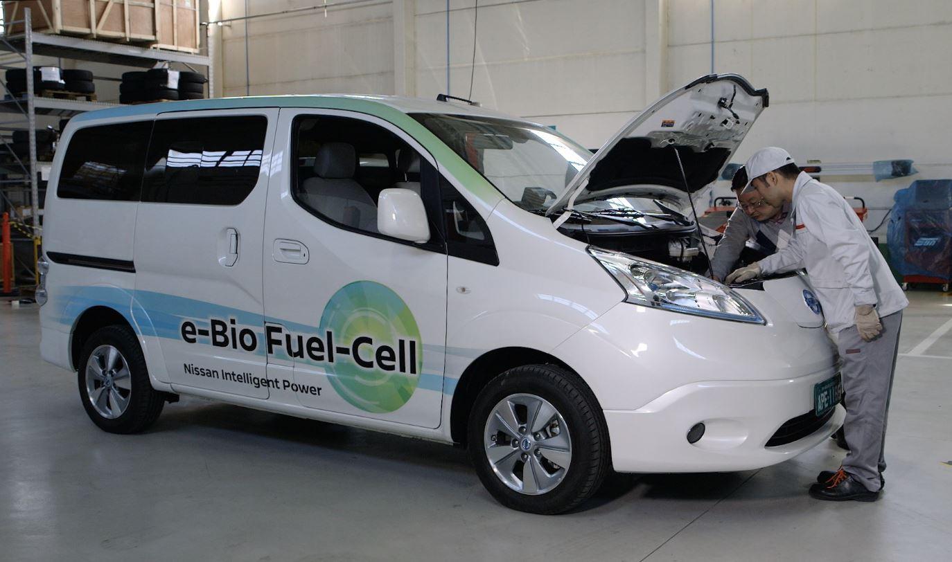 Nissan presenta la propulsione elettrica alimentata dal bioetanolo