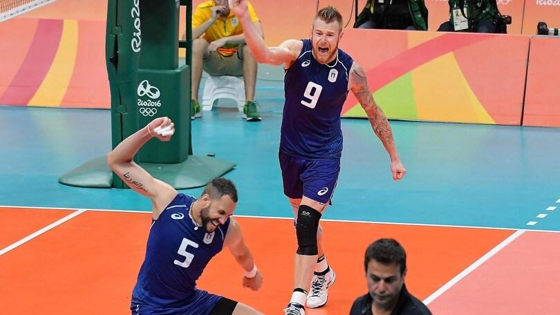 Volley: Rio 2016, L'Italia soffre un set poi vola in semifinale