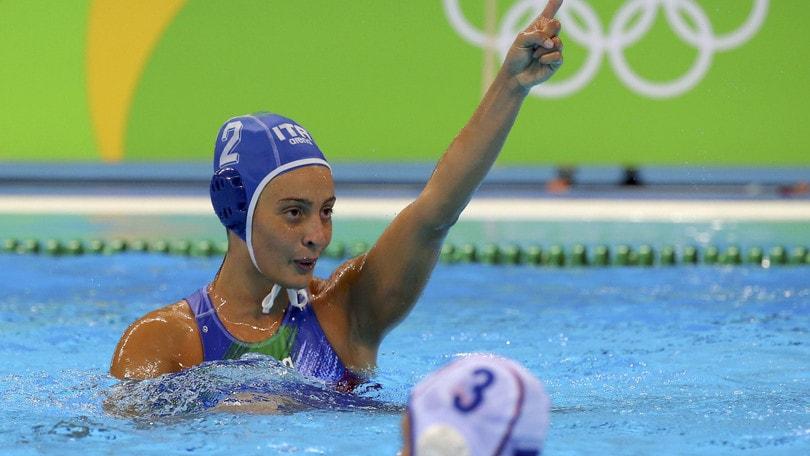 Olimpiadi, pallanuoto: Setterosa, l'oro un traguardo a 7,75