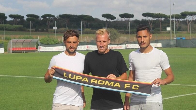 Calciomercato Lupa Roma, ecco Aloi, Corvesi e Proia