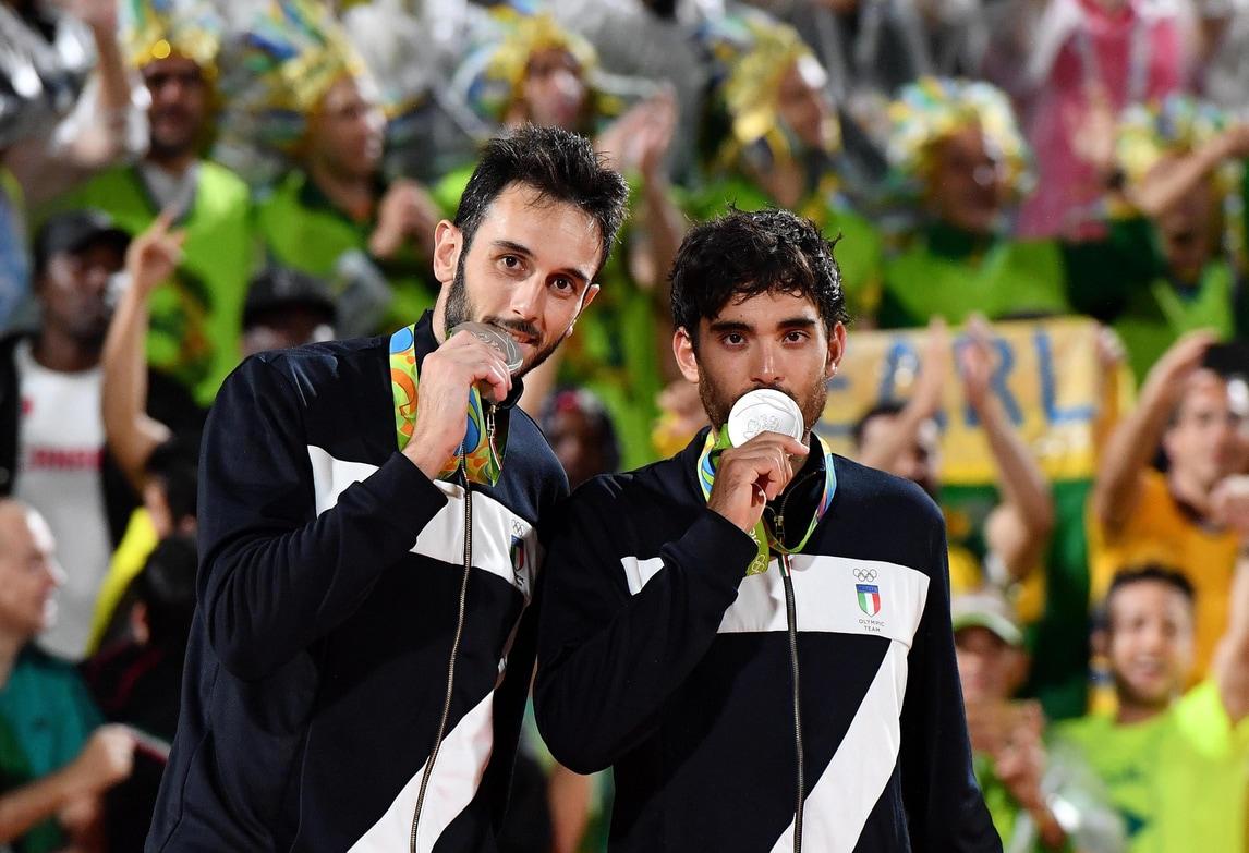 Olimpiadi, Lupo-Nicolai d'argento: troppo forte il Brasile