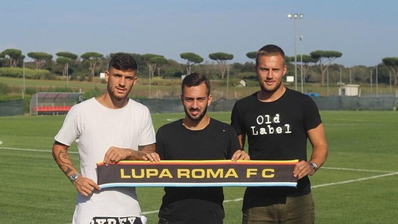Calciomercato Lupa Roma, Svedkauskas in prestito dalla Roma