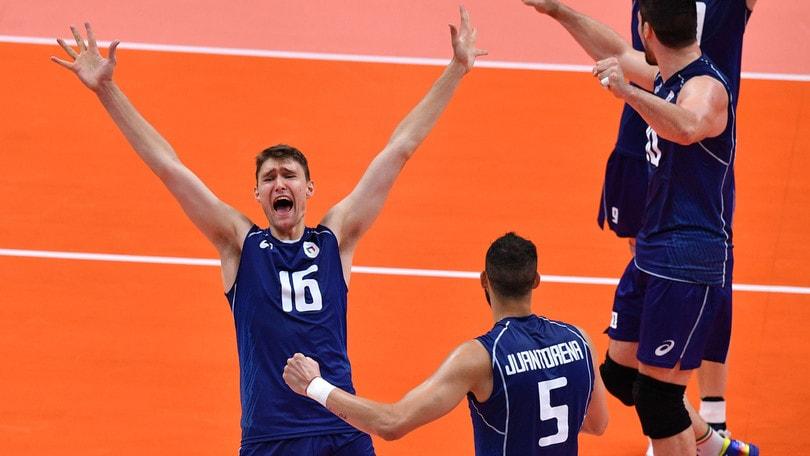 Volley: Rio 2016, Italia da impazzire, batte gli Usa e giocherà per l'oro