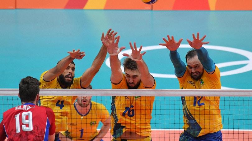 Volley: Rio 2016, fra l'Italia e l'oro c'è ancora il Brasile