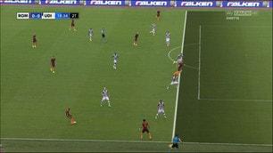 Roma-Udinese, la fotosequenza dell'azione Dzeko-Danilo