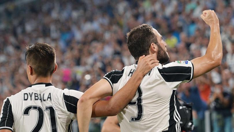 Serie A Juventus:Higuain-Dybala, vai col tango