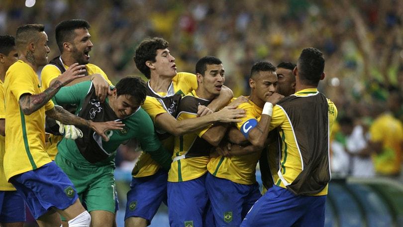 Rio, Brasile-Germania 6-5 ai rigori. Neymar magia, lacrime e medaglia d'oro