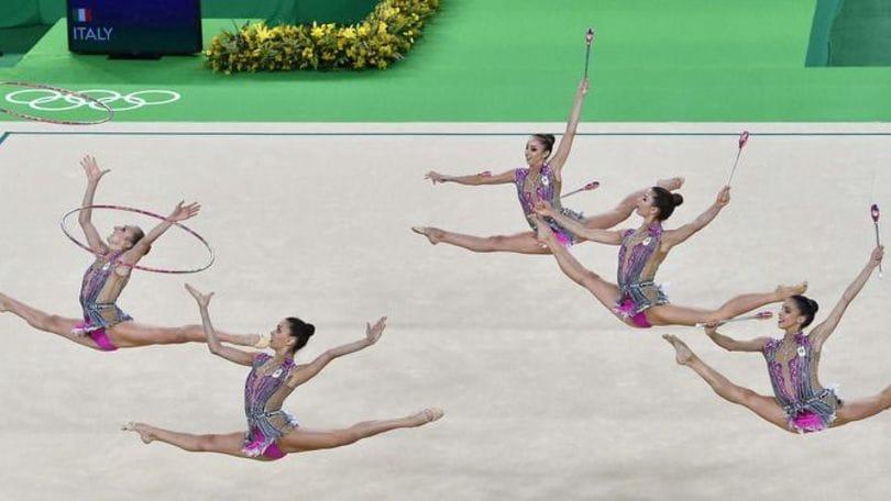Le foto più belle della finale di ginnastica ritmica a squadre