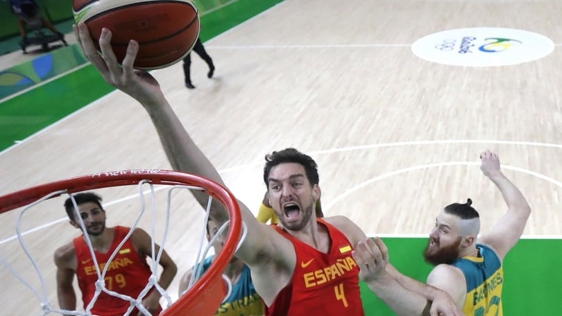 Basket, Gasol dolce addio: Spagna sul podio