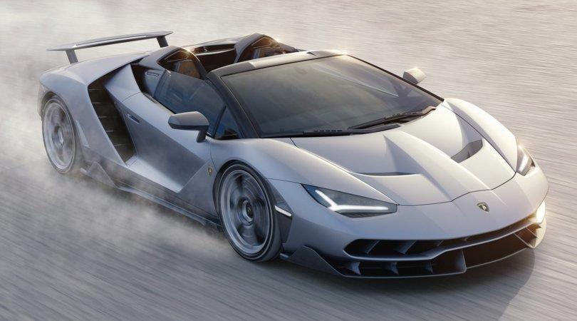 Centenario Roadster, la Lambo aperta più potente di sempre