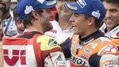 MotoGp: super Rossi, ma in quota vola Marquez