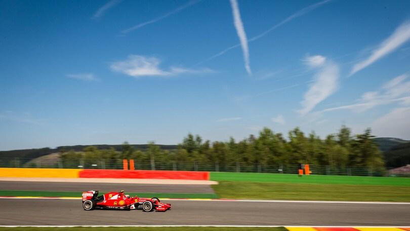Circuito Spa : F1 ferrari raikkonen u201cspecialistau201d di spa: «circuito vecchio stile