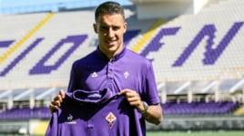 Fiorentina, presentato Tello al Franchi