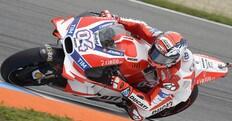 MotoGp test Ducati a Misano, caduta per Dovizioso