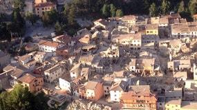 Terremoto, Amatrice dall'elicottero: il video della Polizia di Stato