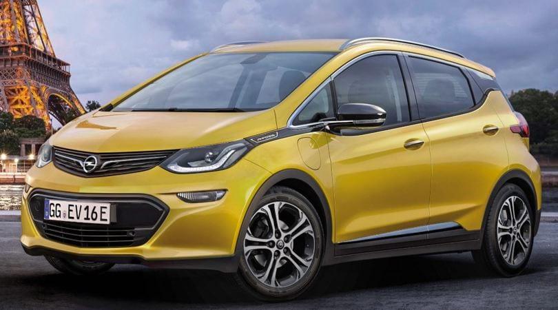 Opel Ampera-e, la nuova compatta elettrica pronta al debutto