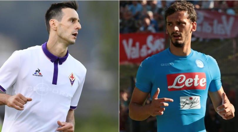 Kalinic al Napoli, Gabbiadini alla Fiorentina: si tratta