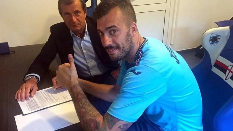 Calciomercato Sampdoria, Viviano rinnova fino al 2021