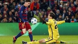 Uefa, il gol di Messi alla Roma il più bello della stagione