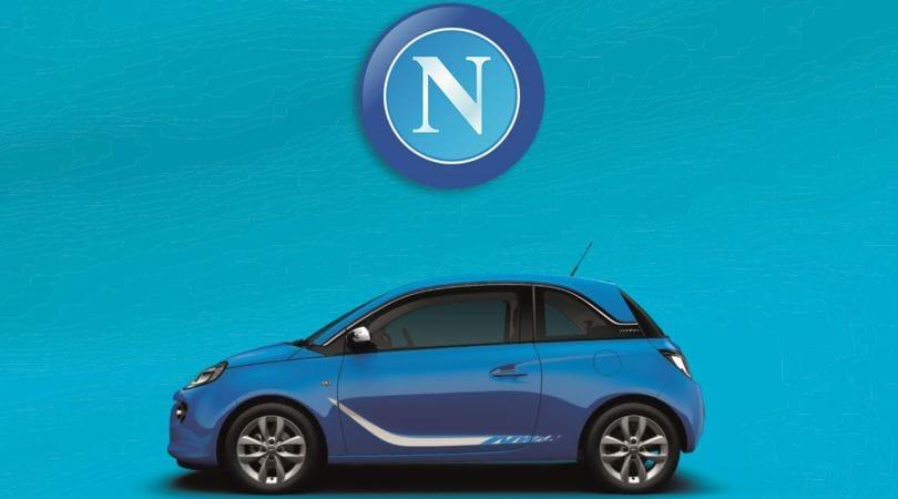 Opel nuovo sponsor istituzionale del Napoli