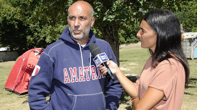 Terremoto, Pirozzi: «Non posso più allenare». Il Trastevere: «Ti aspettiamo»