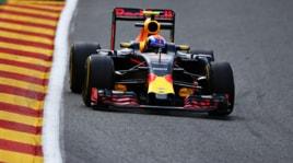 F1 Belgio, le Red Bull dominano nelle seconde libere