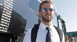 Juventus a Fiumicino, Pjanic torna a Roma con la maglia bianconera