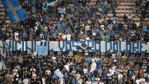 """Napoli, anche il San Paolo si commuove per il terremoto: """"vicini al vostro dolore""""!"""