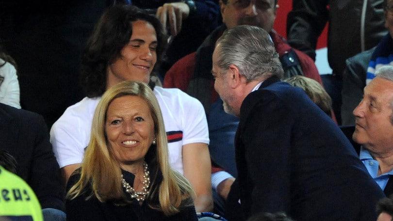 Calciomercato Napoli, De Laurentiis vuole riprendere Cavani