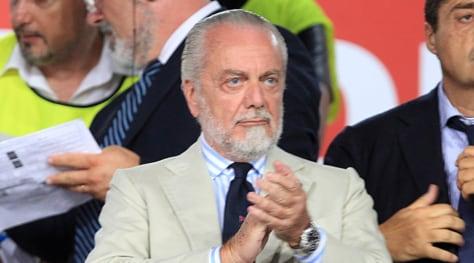 Serie A Napoli, De Laurentiis: «Centrocampo super. Ci siamo rinforzati più di tutti»