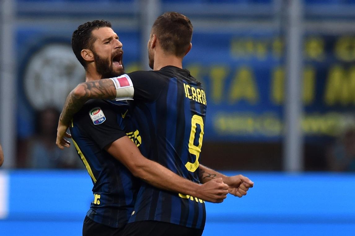 Serie A Inter, Candreva: «Icardi? E' fortissimo»