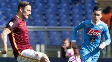 Spagna, Callejon non ha dubbi: «Totti l'italiano più grande»