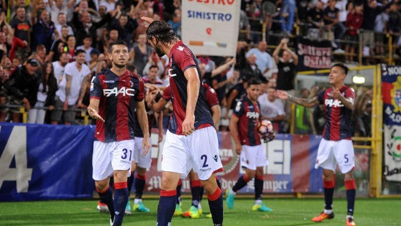 Coppa Italia, quarto turno: Bologna-Verona l'1 dicembre