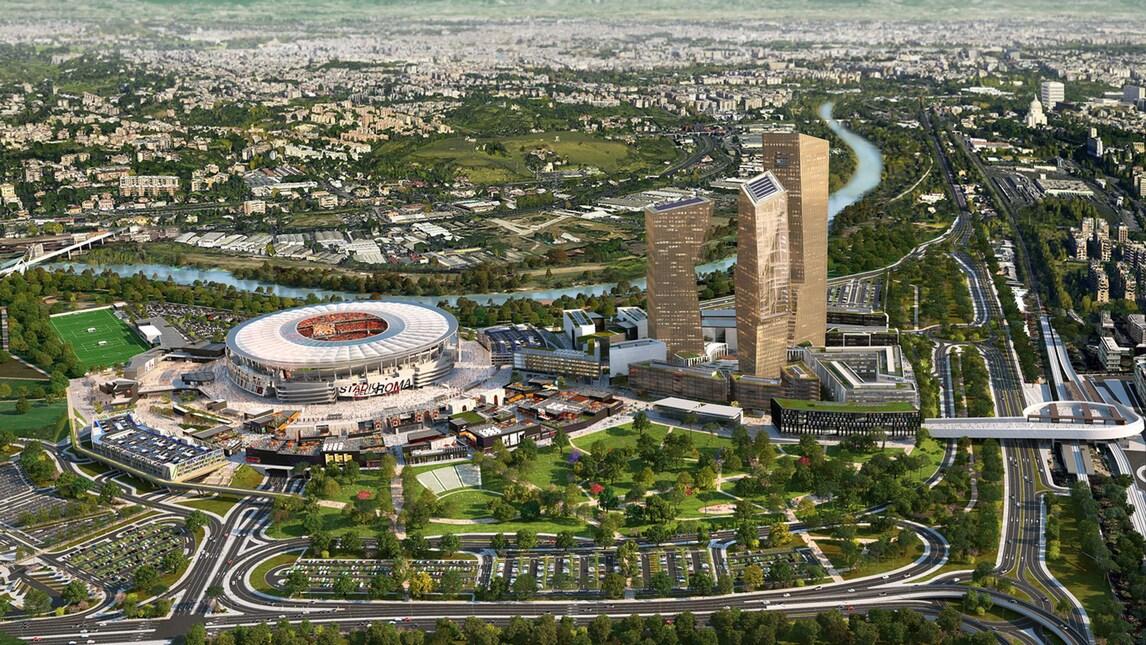 Stadio Roma, progetto in Regione: «Manca parere conformità»
