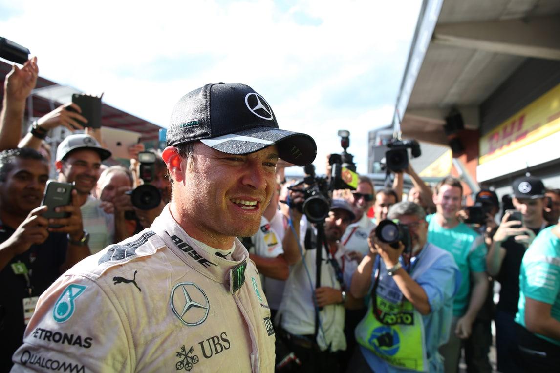 F1 Monza, Rosberg: «Ogni gara come una finale»