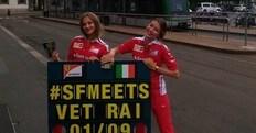 Vettel e Raikkonen incontrano i tifosi a Milano