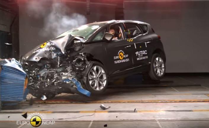 Auto più sicure del 2016, 5 stelle a Renault Scénic