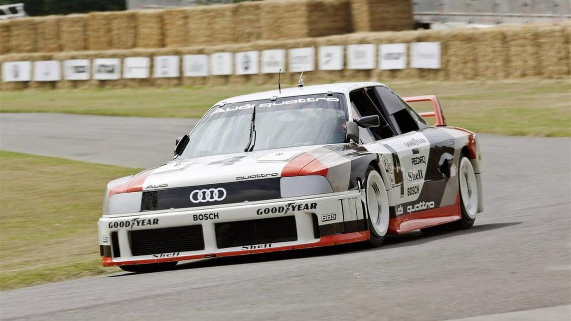Audi, 40 anni di 5 cilindri