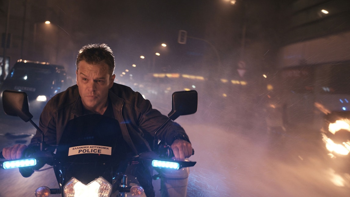 Jason Bourne, 170 auto distrutte in una sola scena