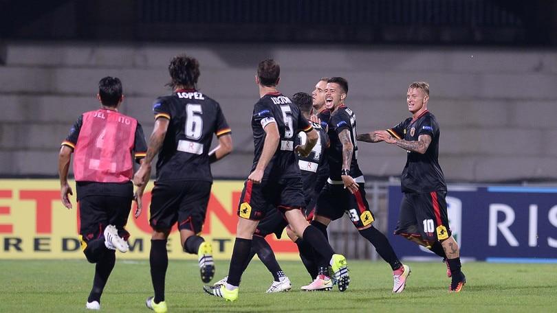 Serie B, Benevento: a 5,00 l'impresa contro il Carpi